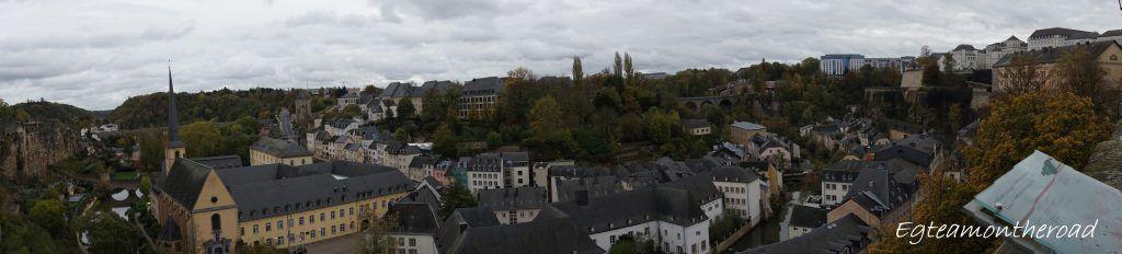 Barrio del Grund. Luxemburgo, 2019