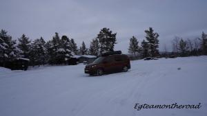 Pernocta en Kiruna, Suecia.