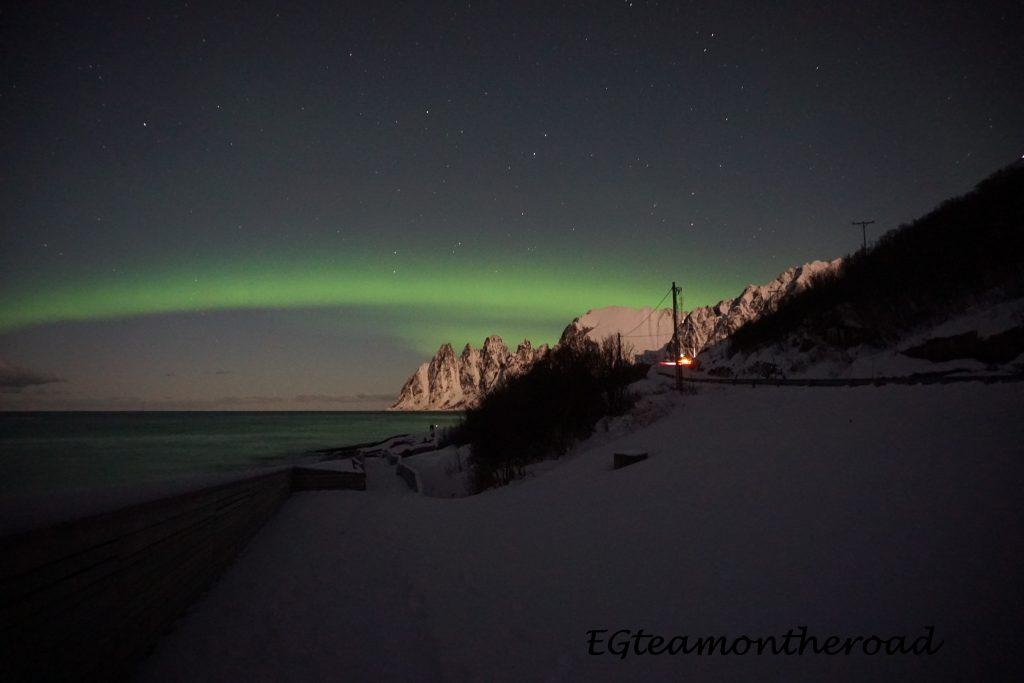 Aurora Boreal en Isla de Senja