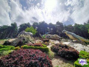 Dinosaurios en los Jardines Contemporáneos de Juberri