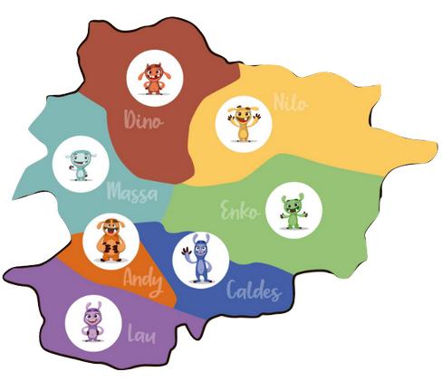 Mapa de Tamarros