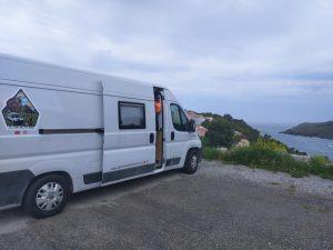 Pernocta en la frontera España-Francia
